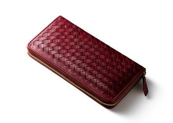 マットーネ編み込み長財布