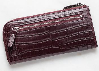 レディースパイソン長財布