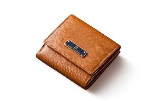 レディース本革二つ折り財布